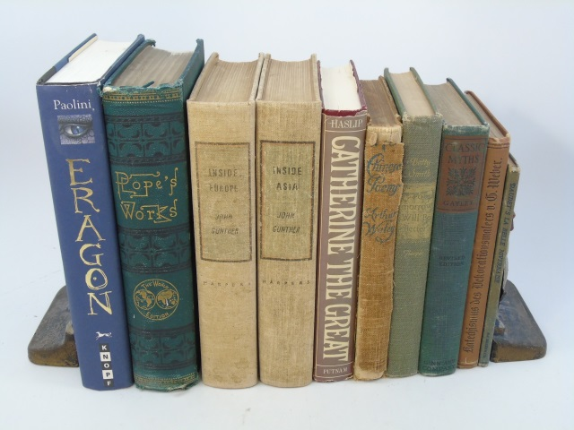 Group Lot of Vintage & Antique History Books