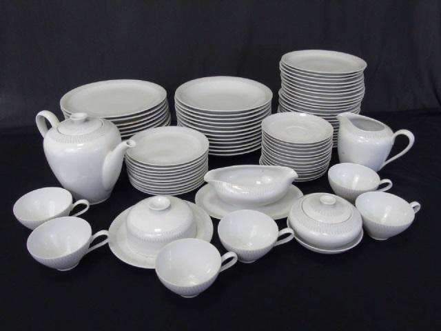 Mid Century Porcelain Partial Dinner Service KPM