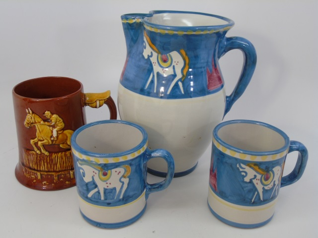 Solimene Italian Pottery & Dartmouth Pottery Mug