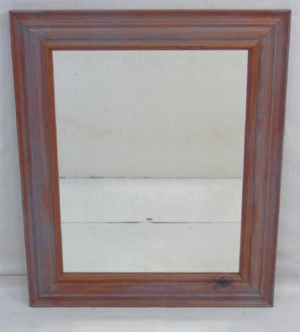 Contemporary Traditional Carved Wood Mirror Frame