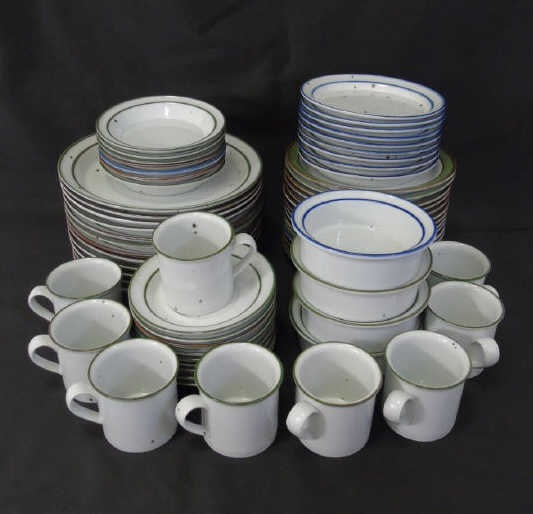 Partial Service Dansk Pottery Dinnerware
