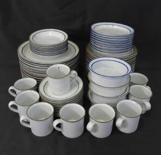 Partial Service Dansk Pottery Dinnerware