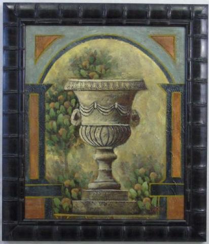 Tyler - Framed Still Life Floral Urn Painting