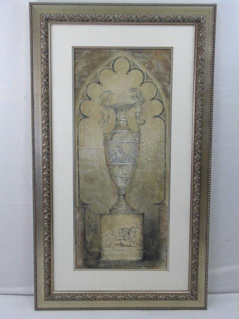 Large Contemporary Flower Urn Still Life Painting