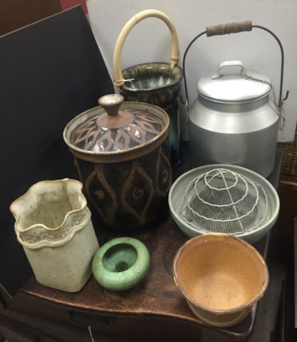 Collection of Vintage Handmade Art Pottery