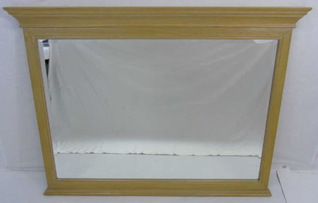 Contemporary Traditional Wood Framed Mirror