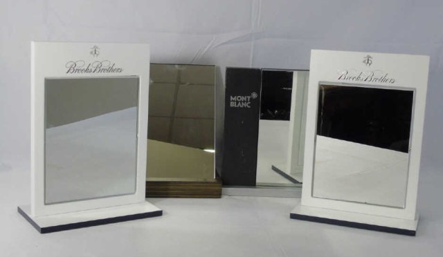 Four Counter Top Eye Glass Display Store Mirrors
