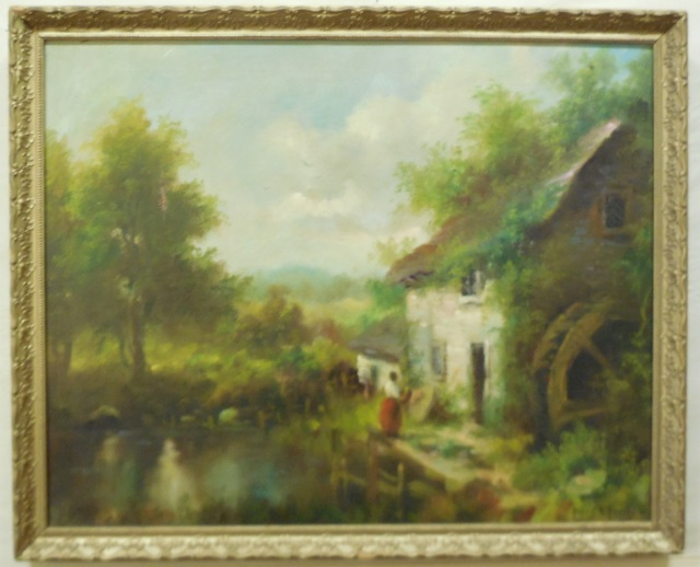 Henry T. Harvey Oil Painting