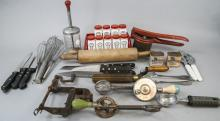 Box Of Assorted Vintage Cooking Items