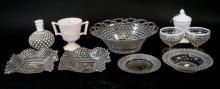 Antique & Vintage Milk, Cut & Hobnail Glass Items