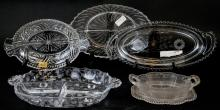 Assorted Lot Of Crystal & Cut Glass Vessels