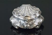 Antique 19th C French Shell Form Jewelry Box