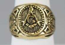Masonic / Fraternal Organization Signet Ring