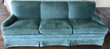 Custom Upholstered Down Blend Contemporary Sofa