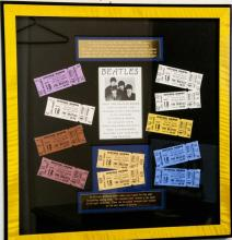 The Beatles Suffolk Down Boston Concert Ticket Set