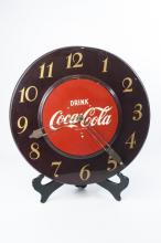 Coca Cola Advertising / Display Metal Wall Clock