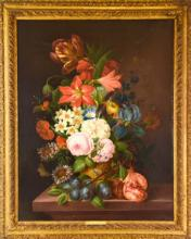 Franz Xaver Gruber - Oil Painting w Provenance