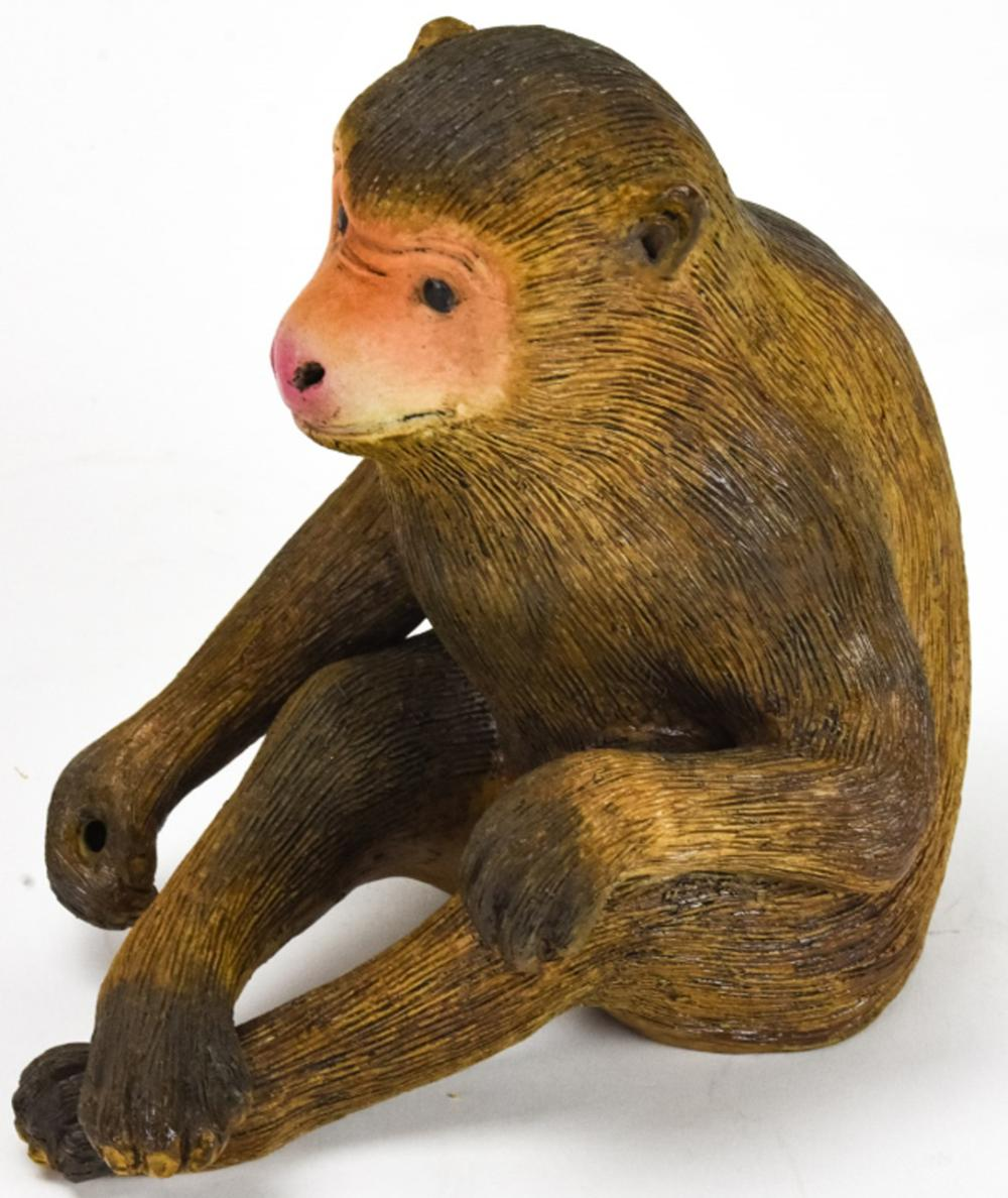 Chinese Porcelain Figural Monkey Statue