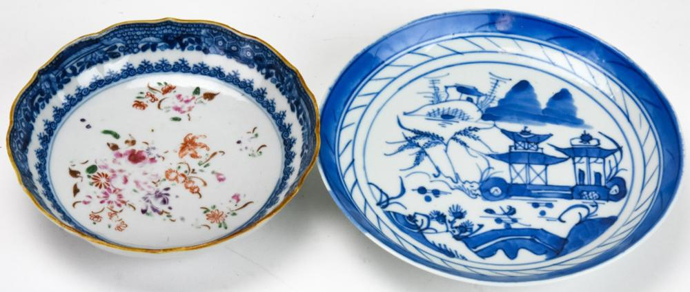 18th & 19th C Chinese Canton & Export Porcelain