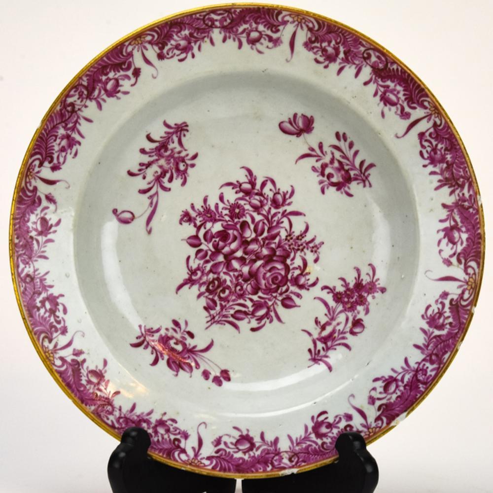 Antique 18th Century Chinese Porcelain Bowl