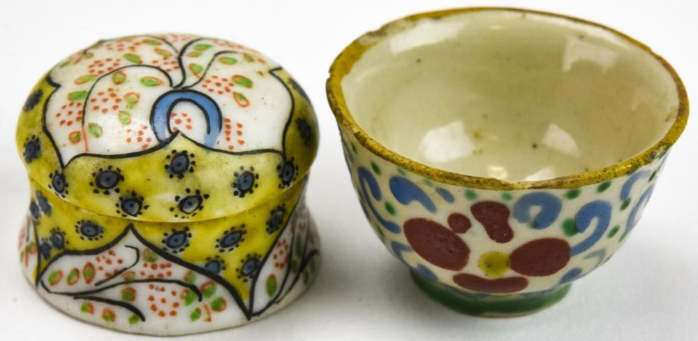2 Antique Chinese Porcelain Miniatures