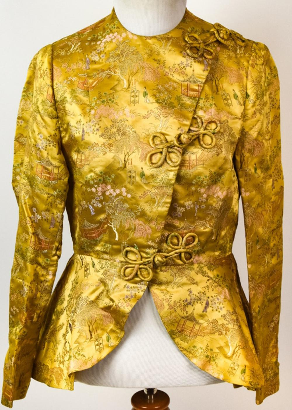 Chinese Hand Embroidered Silk Ladies Dress Jacket