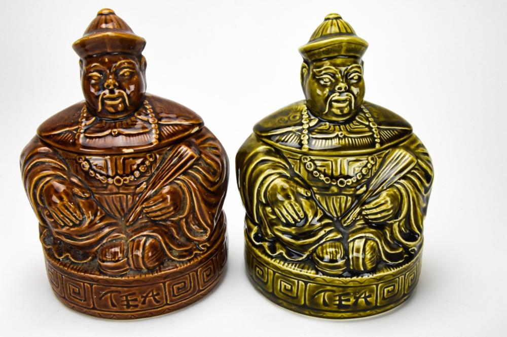 Lot Sadler England Pottery Kitchen / Cookie Jars