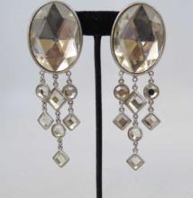 Ben Amun Contemporary Fringe Earrings