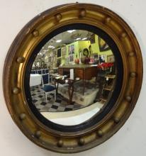 Federal Gilt Circular Wall Mirror