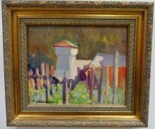 Impressionist Landscape-