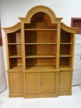 Vintage Ethan Allen Pine Hutch- 4 Pieces