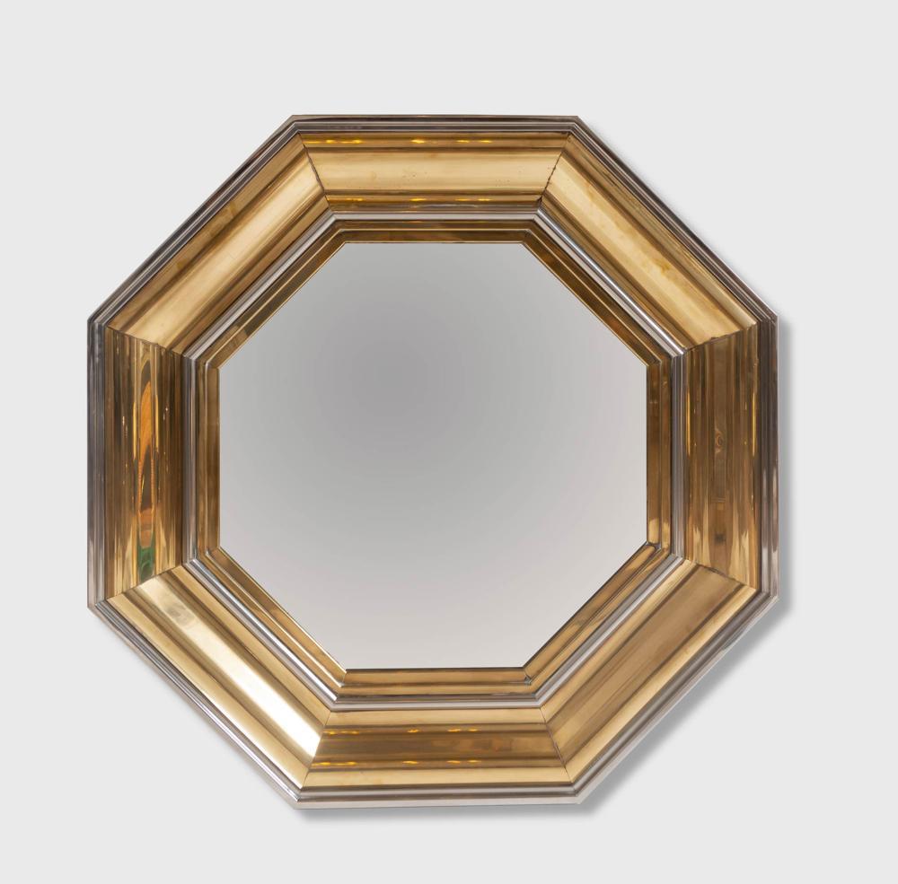Sandro petti per maison jansen grande specchio ottagonale for Lots specchio