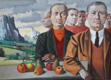 Georges ARDITI (1914-2012) Autoportraits présumés, 1982