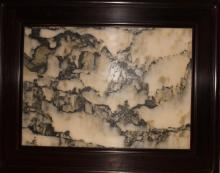 Lot 14: An Estate Chinese Marble-stone Table Screen Display