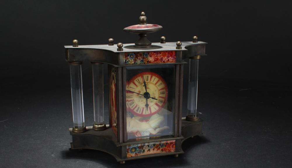 An Estate Fortune Clock Table Display