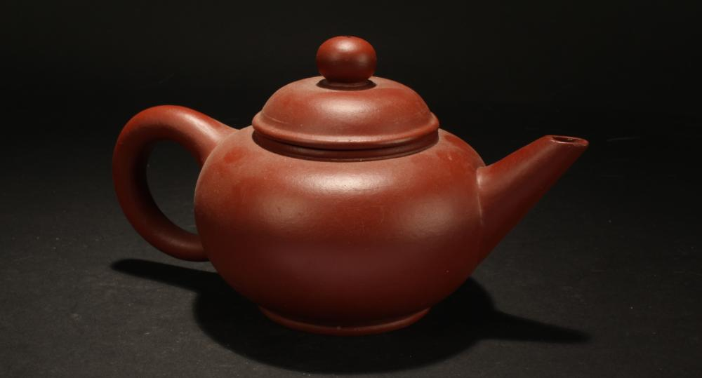 An Estate Chinese Big Fortune Tea Pot