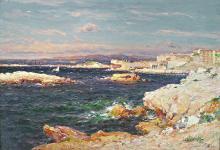 OLIVE, JEAN BAPTISTE - Marseille, La Corniche