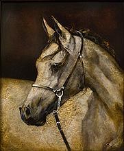 ALAN, CRIAG - Narrative Horse: Whisper (Hay Horse)