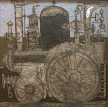 VENARD, CLAUDE - Locomotive, 1954