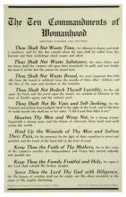 The Ten Commandments of Womanhood