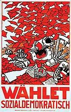 Wählt Sozialdemokratisch!