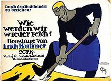 Broschüre von Erich Kuttner