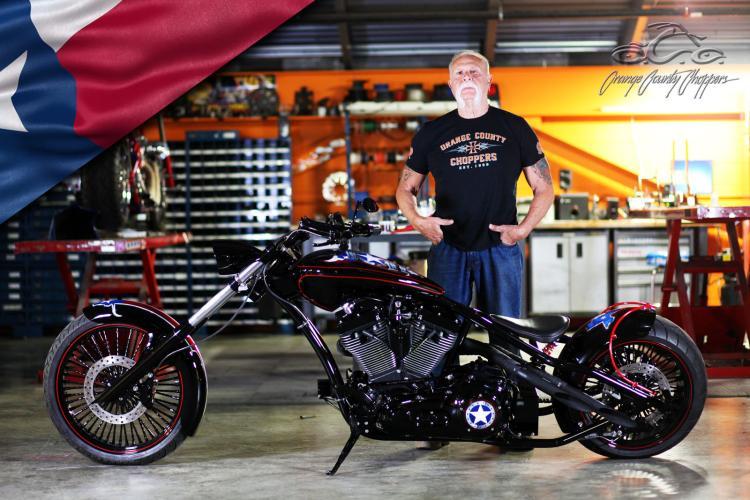 Orange County Choppers - Texas Strong Bike