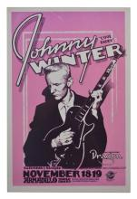 Poster: Johnny Winter