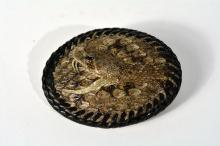 Johnny Winter's Rattlesnake Belt Buckle