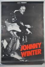 Poster: KCP Presente Johnny Winter