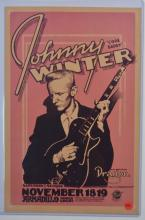Poster: Johnny Winter,