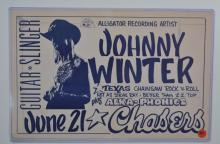Poster: Johnny Winter, Guitar Slinger