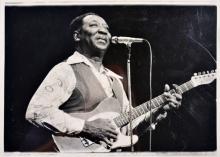 Muddy Waters Vintage Photo