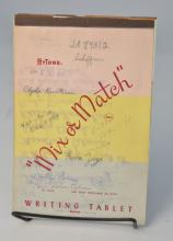 Johnny Winter's 70's-era Writing Tablet